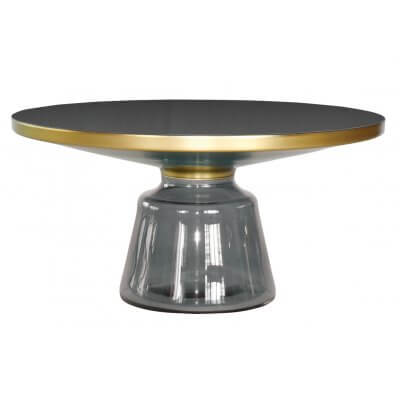 Stolik kawowy Bottle Table szary 75/37