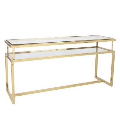 Konsola Janssen Gold złota 45/76/160