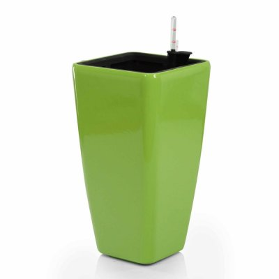 Donica Modena Glossy Green 22x22x41