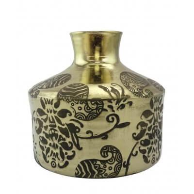 Golden Vase 20 cm