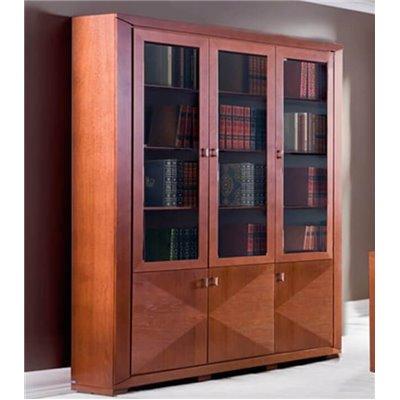 Cube - Biblioteka 185 z intarsją.