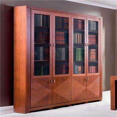 Cube - Biblioteka 240 z intarsją.