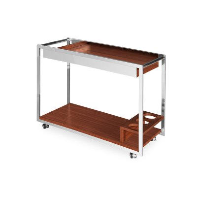 Barek mobilny drewniany 90 x 40 x 70