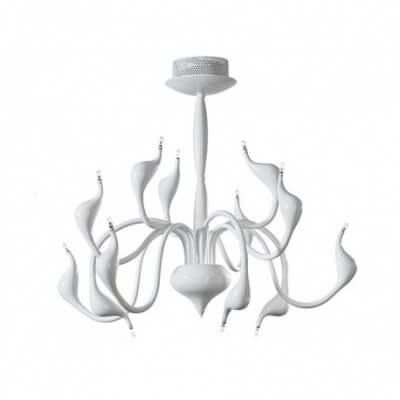 Lampa wisząca Snake white