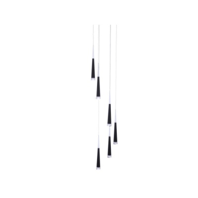 Lampa wisząca Brina 6 black