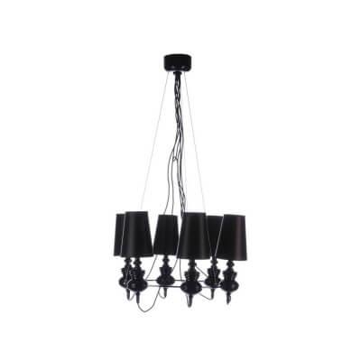 Lampa wisząca Baroco 6 black