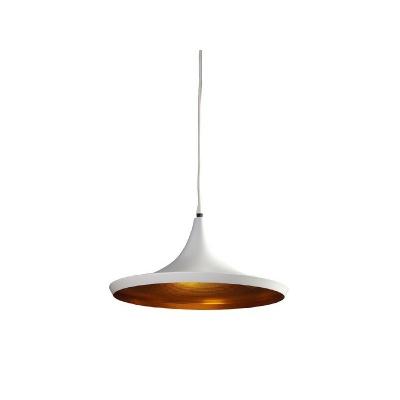 Lampa wisząca Chink white/gold