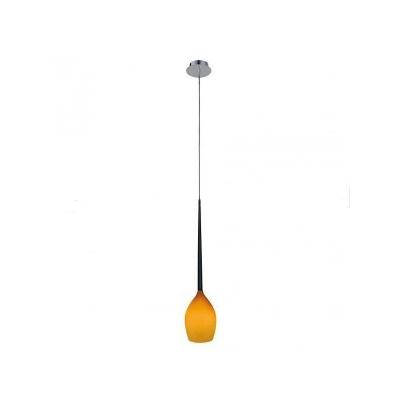 Lampa wisząca Izza 1 amber