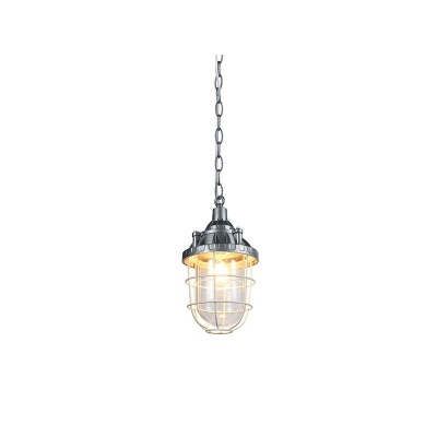 Lampa wisząca Howe metal glass