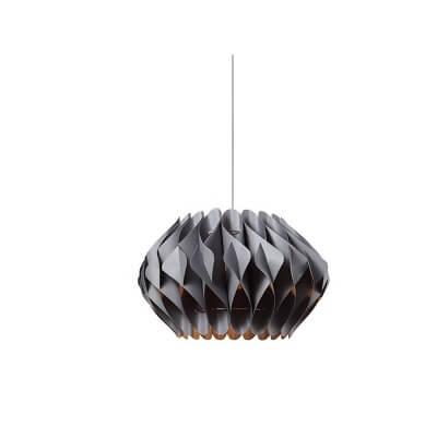 Lampa wisząca Ruben M gray
