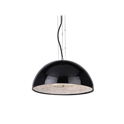 Lampa wisząca Decora M black