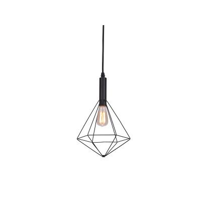 Lampa wisząca Diamond 1 black